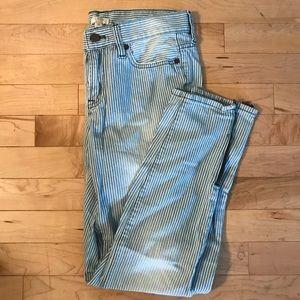J. Crew pinstripe jeans